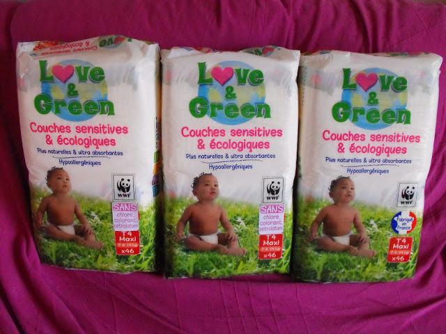 Nouveau packaging lot reçu suite à un concours sur Facebook!
