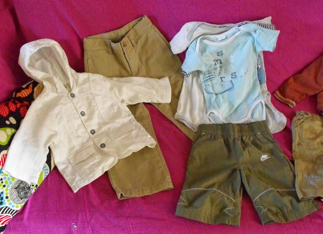 1ers achats de vêtements d'occasion pour la belle saison