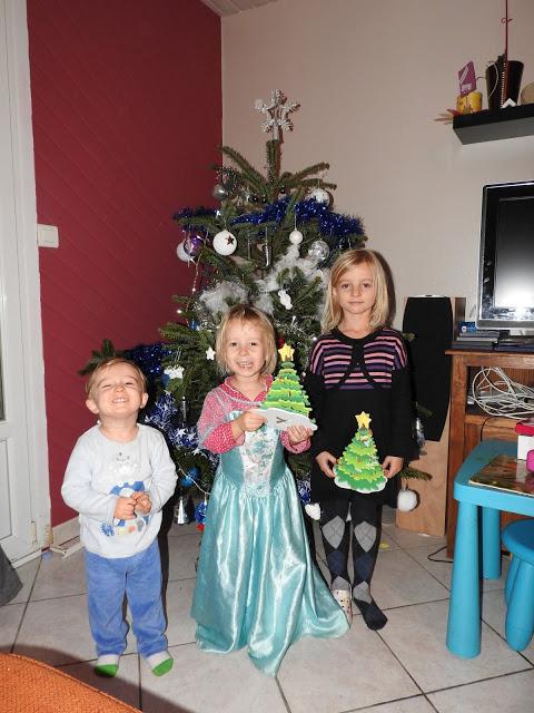 La magie de Noël chez les verts