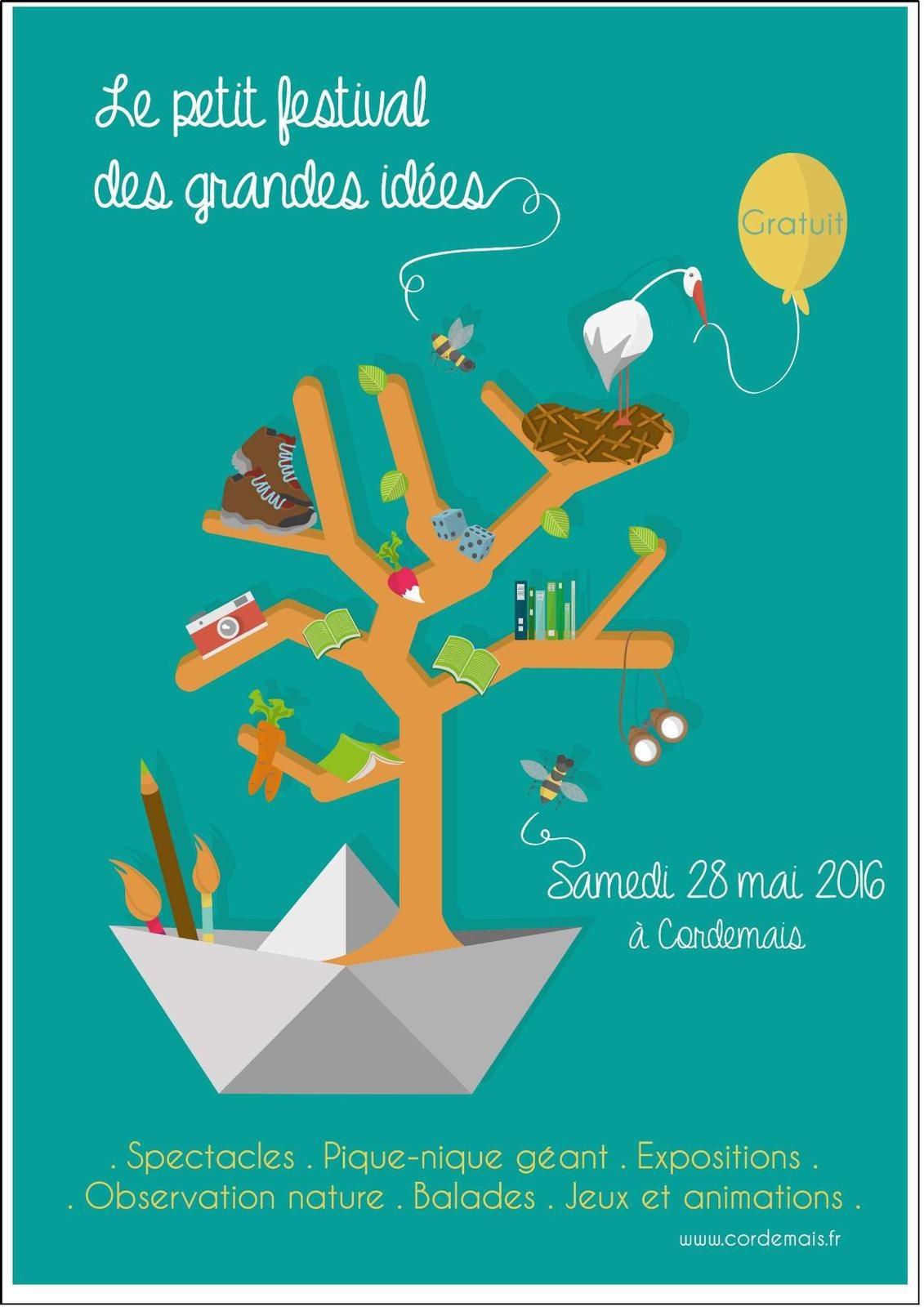 Le petit Festival des grandes idées à Cordemais