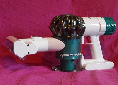 Test du Dyson V6 Mattress, une fin inattendue.