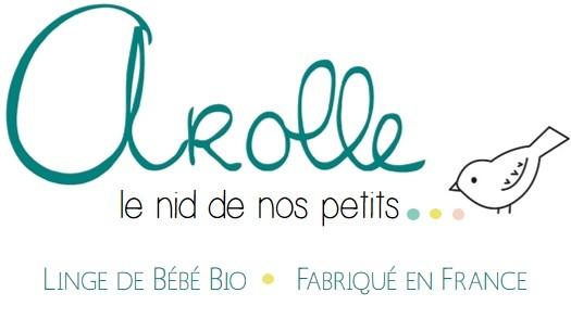 Arolle linge pour bébé 100% bio et Français