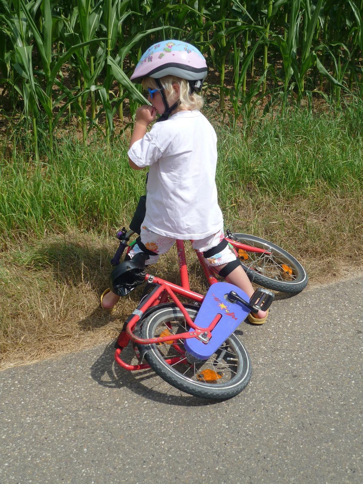 port casque vélo enfant