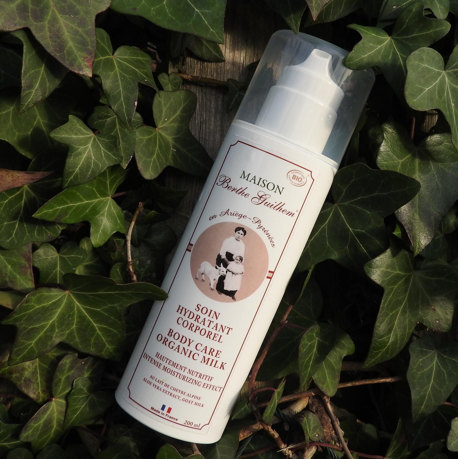 soin hydratant corporel berthe guilhem